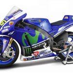 Yamaha YZR-M1 #46 2015 Moto GP Valentino Rossi Motorcycle Model 1/10 by Maisto