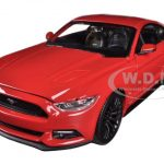 2015 Ford Mustang GT 5.0 Red 1/24 Diecast Car Model by Maisto