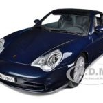 Porsche 911 Carrera Targa Blue 1/18 Diecast  Model Car by Maisto