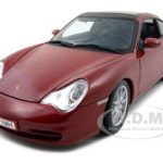 Porsche 911 Carrera Targa Dark Red 1/18 Diecast Model Car by Maisto