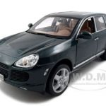 Porsche Cayenne Turbo Green 1/18 Diecast Model Car by Maisto
