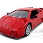 Lamborghini Diablo Red 1/24 Diecast Model Car by Maisto
