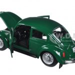 1973 Volkswagen Beetle Green 1/24 Diecast Model Car by Maisto