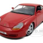 1997 Porsche Carrera 911 Red 1/24 Diecast Model Car by Maisto