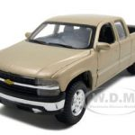 Chevrolet Silverado Pickup Truck Gold 1/27 Diecast Model by Maisto