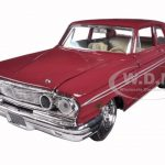 1964 Ford Thunderbolt Burgundy 1/24 Diecast Car Model by Maisto
