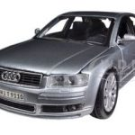 Audi A8 Grey 1/26 Diecast Model Car by Maisto
