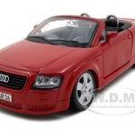 Audi TT Roadster Red 1/24 Diecast Car Model by Maisto