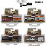 Hitch & Tow Series 7 Set of 4 1/64 Diecast Model Cars by Greenlight
