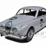 1962 Coombs Jaguar Mark 2 3.8L Racing #84 1/18 Diecast Model Car by Model Icons