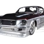 1967 Ford Mustang GT Red /Silver Harley Davidson 1/24 Diecast  Model Car by Maisto