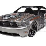 2011 Ford Mustang GT Grey Harley Davidson 1/24 Diecast Model Car  by Maisto