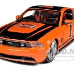 2011 Ford Mustang GT Harley Davidson Orange #1 1/24 Diecast  Model Car by Maisto