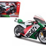 Ducati Italy Motor World Cycle Series Motorcycle Model 1/6 by Maisto