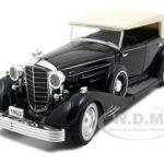 1933 Cadillac Fleetwood Black 1/32 Diecast Model Car by Signature Models