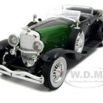 1934 Duesenberg Black 1/32 Diecast Car Model by Signature Models