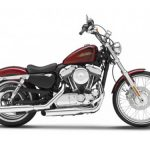 2012 Harley Davidson XL 1200V Seventy Two Motorcycle Model 1/12 by Maisto