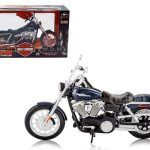 2006 Harley Davidson FXDBI Dyna Street Bob Bike Motorcycle Model 1/12 by Maisto