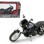 Sons of Anarchy Jackson Jax Tellers 2003 Harley Davidson Dyna Super Glide Sport Bike Motorcycle Model 1/12 by Maisto