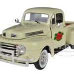 1949 Ford F-1 Tomato Delivery Truck Cream 1/32 Diecast Model Car by Signature Models
