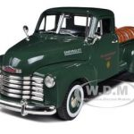 1950 Chevrolet Pickup Truck Green With Barrels Willamette Valley Winery 1/32 Diecast Model Car by Signature Models