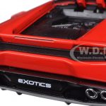 Lamborghini Huracan LP 610-4 Red Exotics 1/24 Diecast Model Car by Maisto