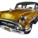 1955 Buick Century Gold/Black Outlaws 1/26 Diecast Model Car by Maisto