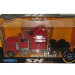 Kenworth W900 Cab Red 1/32 Diecast Model by Welly