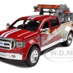 Ford Mighty F-350 Super Duty Tow Truck Red 1/31 Diecast Model by Maisto