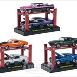 Auto Lift Series 7 6pc Set 1/64 Diecast Car Models by M2 Machines
