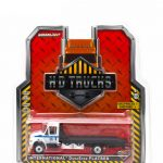 2013 International Durastar 4400 Chicago Police Department Flatbed Tow Truck 1/64 Diecast Model by Greenlight