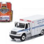 2013 International Durastar Ambulance Central Park Medical Unit Manhattan  New York City Truck HD Trucks Series 4 1/64 Diecast Model by Greenlight