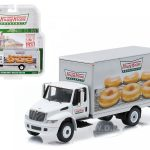 2013 International Durastar Box Van Krispy Kreme Donuts Delivery Truck HD Trucks Series 4 1/64 Diecast Model  by Greenlight