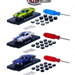 Auto Wheels 3 Cars Set Release 3 IN BLISTER PACK 1/64 Diecast Model Cars by M2 Machines