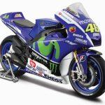 Yamaha YZR-M1 #46 2015 Moto GP Valentino Rossi Motorcycle Model 1/18 by Maisto