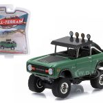 1976 Ford Baja Bronco Green All Terrain Series 3 1/64 Diecast Model Car by Greenlight