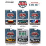 Blue Collar Collection Release 1 6pc Set 1/64 Diecast Car Models by Greenlight