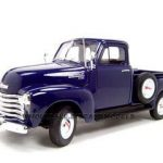 1953 Chevrolet Pickup 3100 Blue 1/18 Diecast Model by Welly
