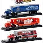Auto Haulers Series 5 3pc Diecast Trucks Set 1/64 Diecast Models by M2 Machines