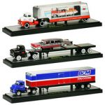 Auto Haulers Release 11 5 Pieces Set 1/64 Diecast Model Cars by M2 Machines