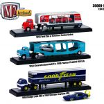 Auto Haulers Release 19 A 3 Trucks Set 1/64 Diecast Models by M2 Machines