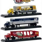 Auto Haulers Series 6 3pc Diecast Trucks Set 1/64 Diecast Models by M2 Machines