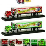 Auto Haulers Release 13 Moon Pie Christmas Edition Set 1/64 Diecast Models by M2 Machines