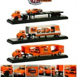 Auto Haulers Release 14 50 Years 426 Hemi Anniversary 3 Pieces Set 1/64 Diecast Models by M2 Machines