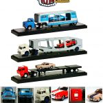 Auto Haulers Release 15 B 3 Trucks Set 1/64 Diecast Models by M2 Machines