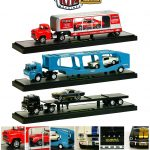 Auto Haulers Release 15 A 3 Trucks Set 1/64 Diecast Models by M2 Machines