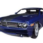 2006 Dodge Challenger Concept Blue 1/18 Diecast Model Car by Maisto