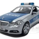 2010 Mercedes E Class German Police 1/18 Diecast Model Car by Maisto