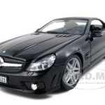 2010 2011 Mercedes SL65 SL 65 Coupe AMG Black 1/18 Diecast Model Car by Maisto