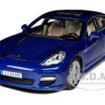 Porsche Panamera Turbo Blue 1/18 Diecast  Model Car by Maisto